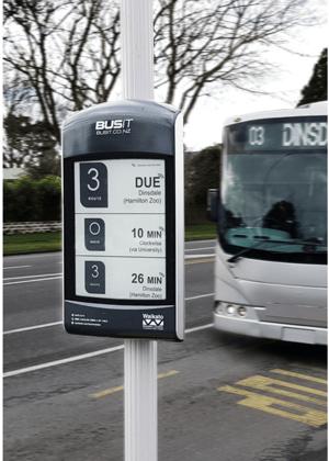DIGITAL BUS STOPS
