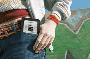 eReader pocket shot
