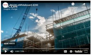 eWhiteboard video image