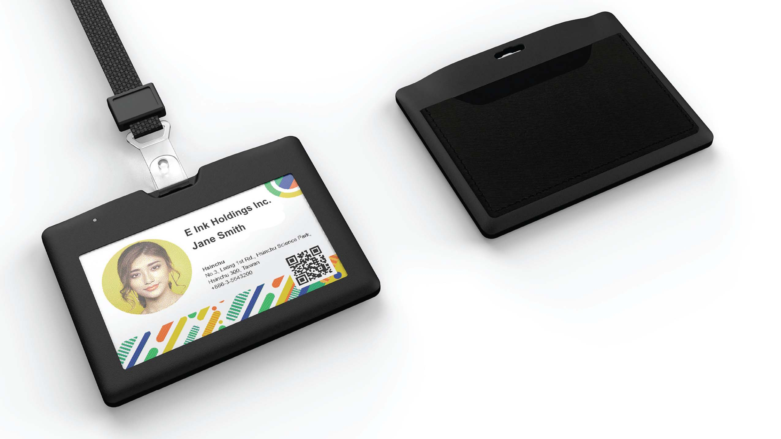 eBadge with E Ink Digital Paper